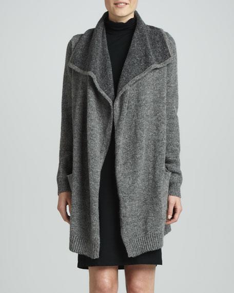 Double-Face Sweater Coat