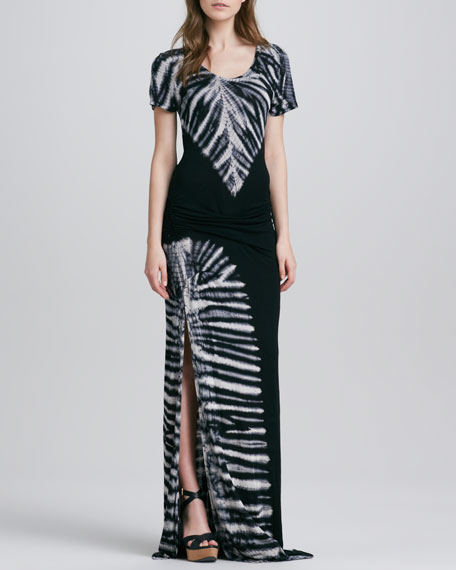 Montauk Side-Slit Maxi Dress