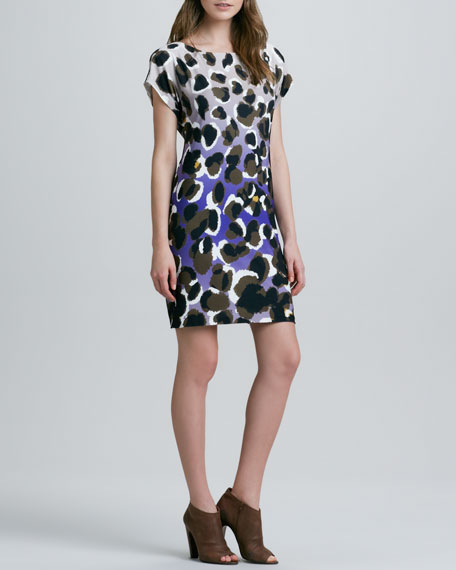 Breene Animal-Print Shift Dress