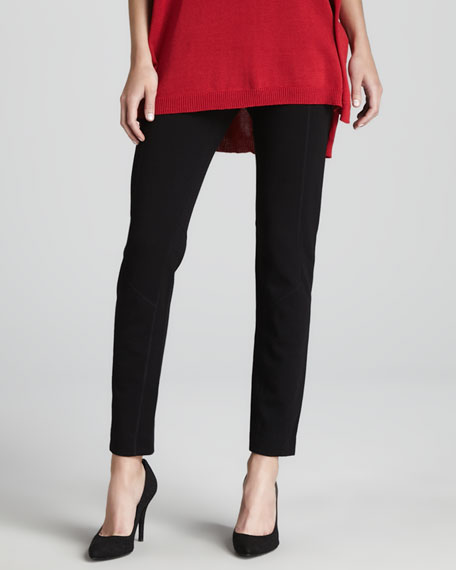Front-Seam Ponte Leggings