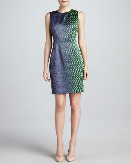 Emory Crystal Cave Sheath Dress
