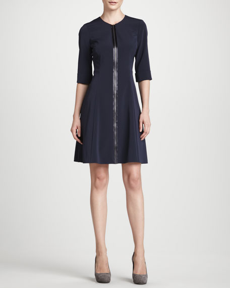 Demi Zip-Front Dress