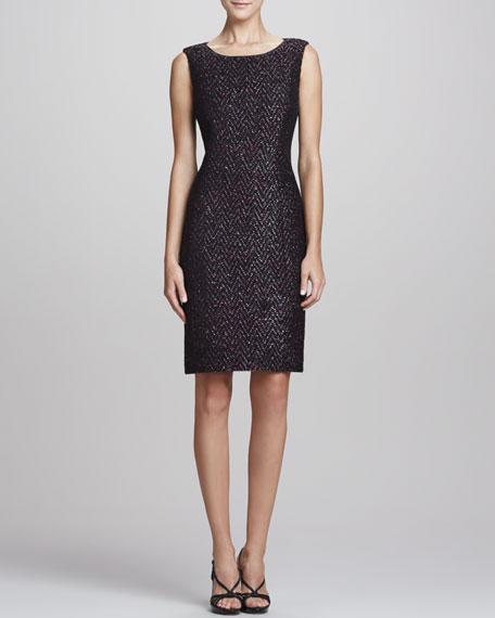 Estelle Sparkle Tweed Dress