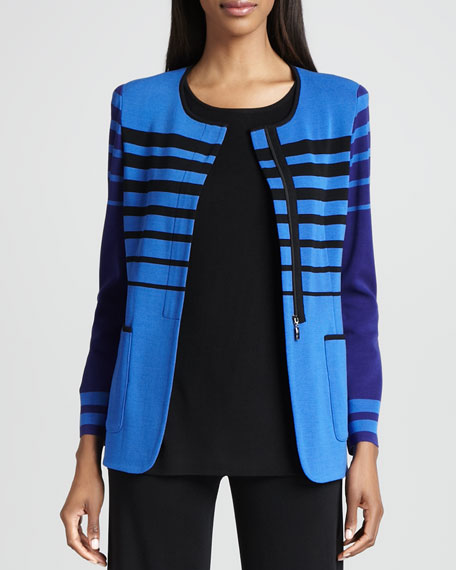 Candy Jacket with Stripes