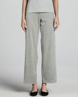 Joan Vass Heather Velour Pants