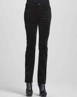 Eileen Fisher Slim Stretch Corduroy Jeans