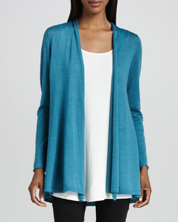 Eileen Fisher Merino Long Cardigan