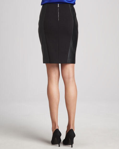 Travern Jacquard Panel Skirt