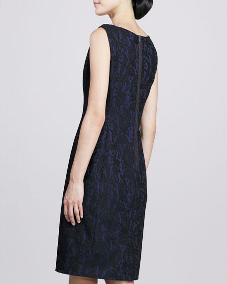 Everly Jacquard Sheath Dress