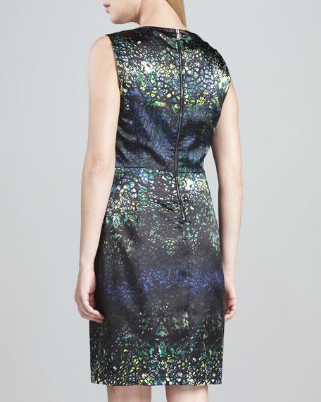 Sienna Printed Sheath Dress