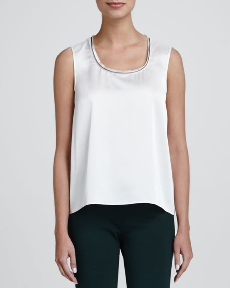 Lila Scoop-Neck Blouse