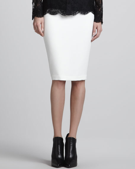 Formfitting Pencil Skirt