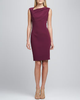 T Tahari Persia Asymmetric Dress