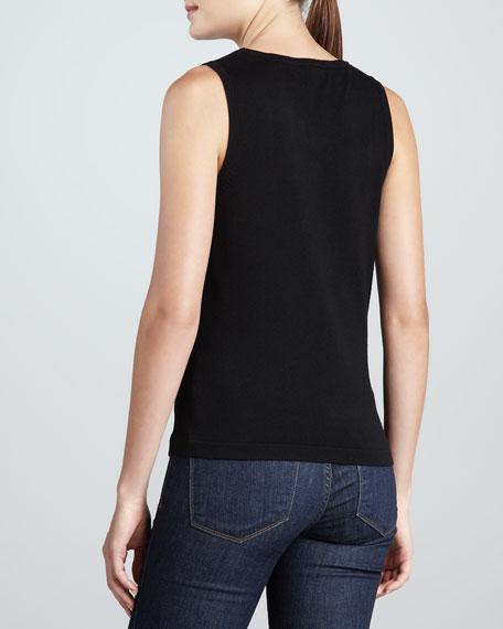 Scoop-Neck Knit Tank, Women's