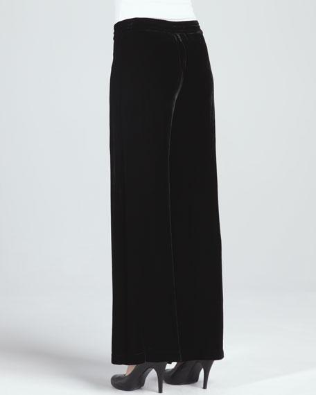 Cassi Silk Velvet Pants