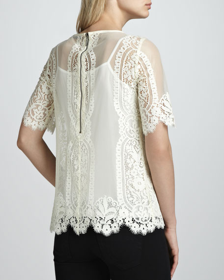 Merry Go Round Lace Top