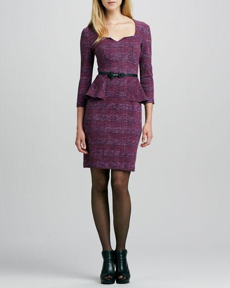 Safi Casablanca Peplum Dress