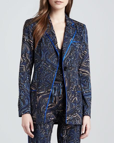 Mystical Printed Twill Jacket