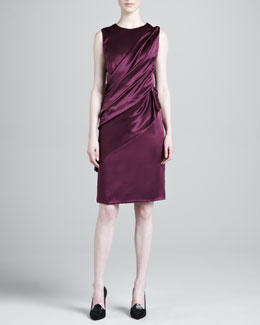 J. Mendel Layered Skirt Dress