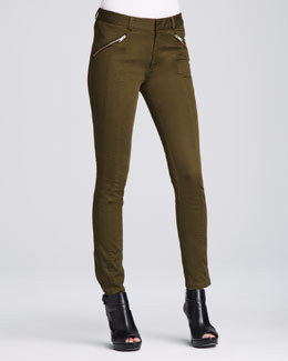 Nanette Lepore Orbit Zip-Pocket Pants