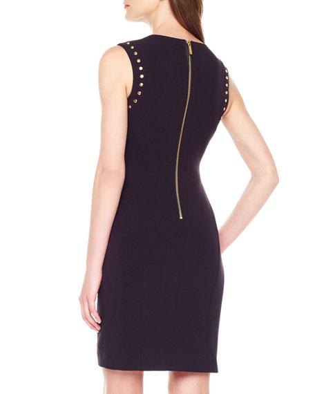 Stud-Outline Dress