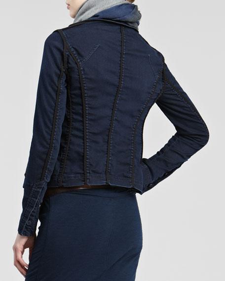 Stretch-Denim Jacket