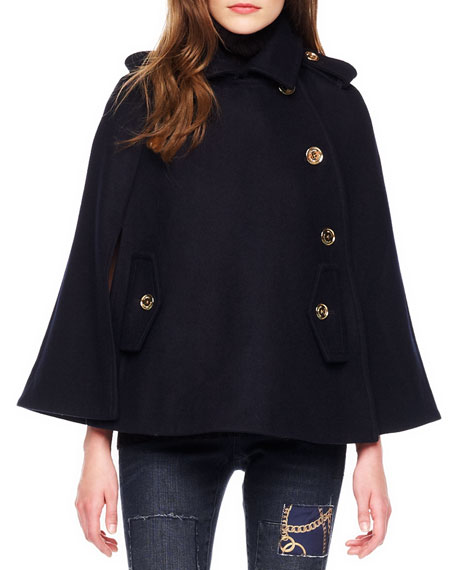 Pea Coat Cape
