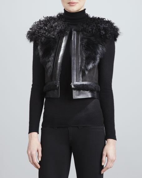 Shearling  Fur & Lambskin Vest