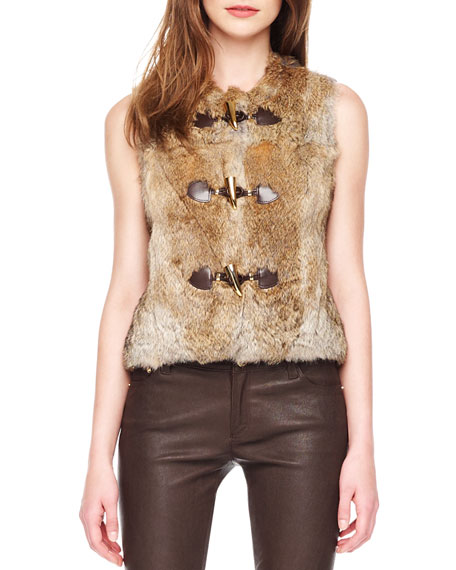 Rabbit Toggle Vest