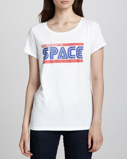 Rebecca Minkoff Galactic Graphic Cotton Tee