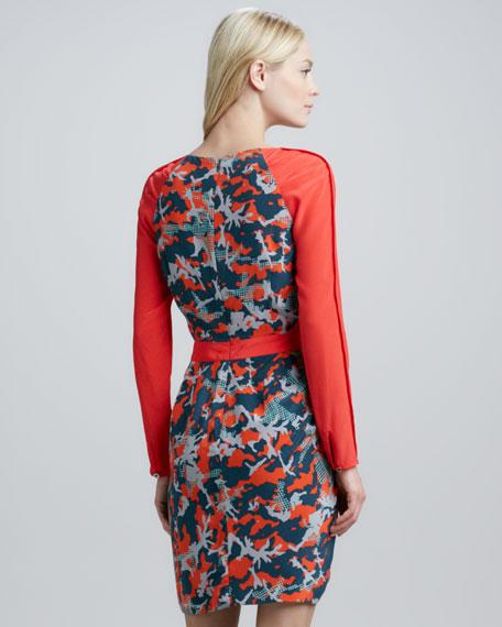 Sacramento Long-Sleeve Dress