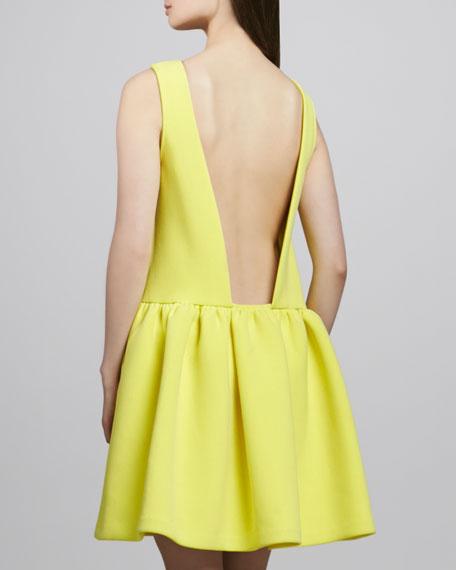 Kirk Low-Back Crepe Dress
