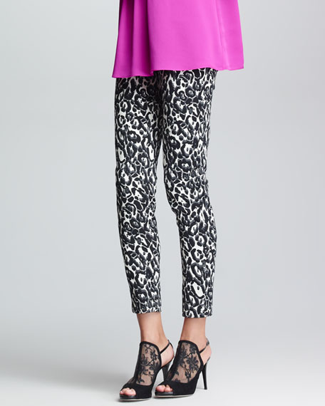 Bailey Printed Slim Pants