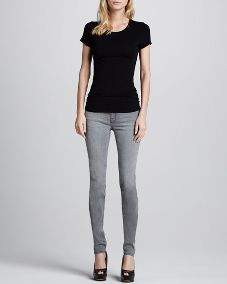 620 Mid-Rise Super Skinny Photo Ready Jeans, Onyx