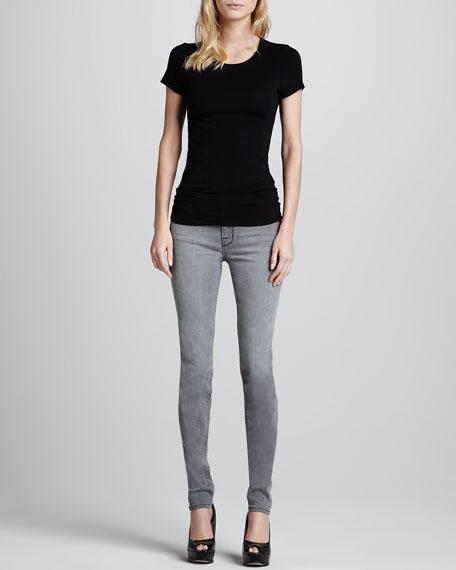 620 Mid-Rise Super Skinny Photo Ready Jeans, Onyx