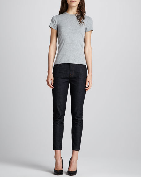 Paragon Mid-Rise Skinny Slouch Jeans