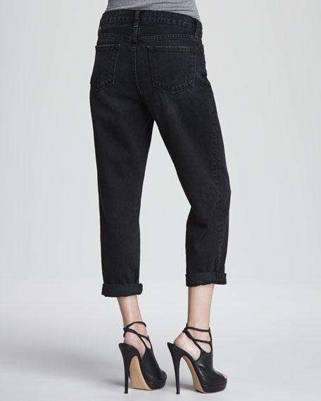 Ace Cuffed Boyfriend Jeans