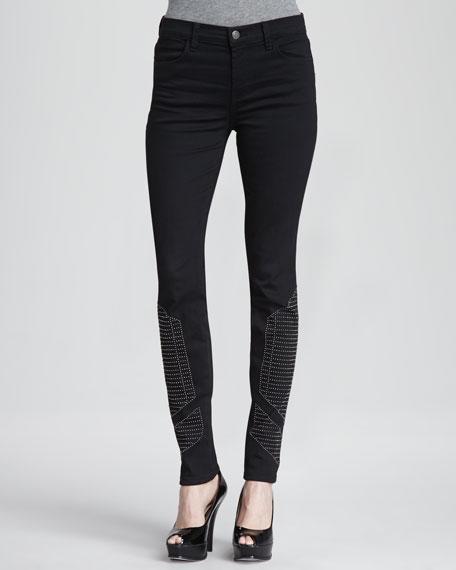Hewson Studded Skinny Jeans