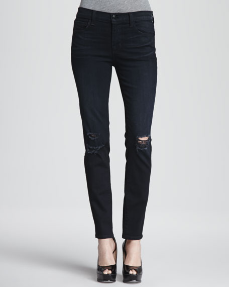 Super Skinny Distressed Jeans