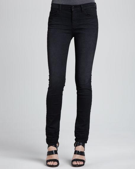 8112 Rail Mid-Rise Rail Jeans, Graphite