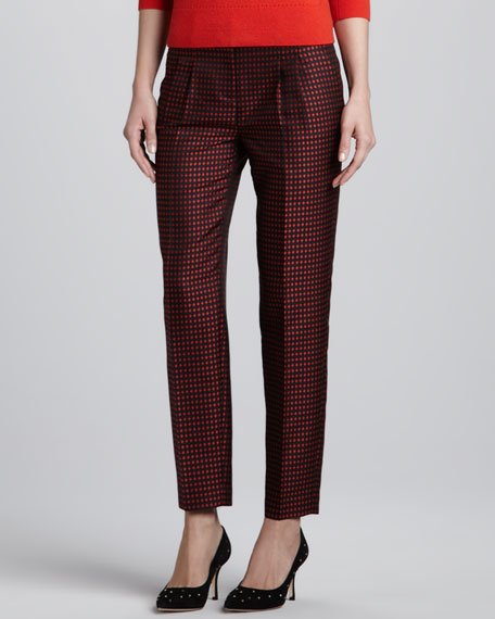 avery dot ankle pants