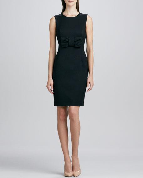 nicolette bow-waist dress