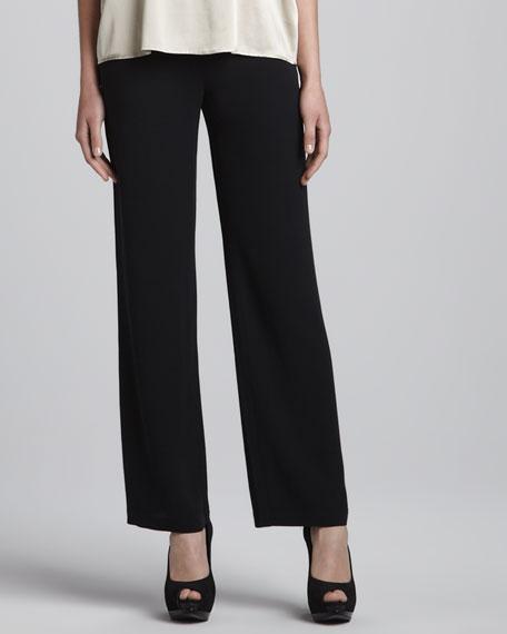 Silk Georgette Crepe Pants