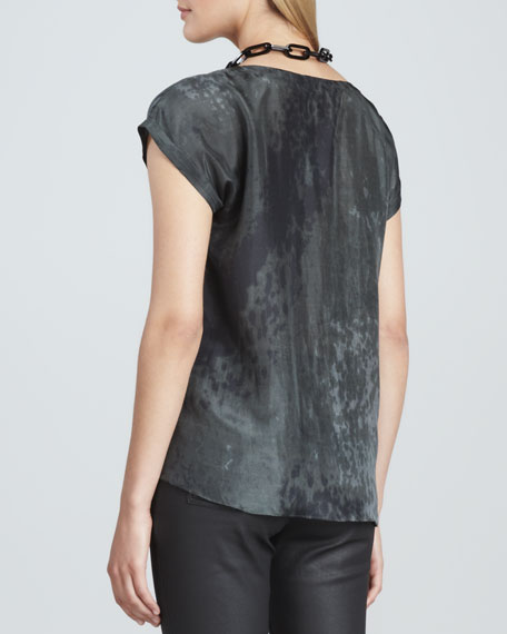Sea Spray Silk Top