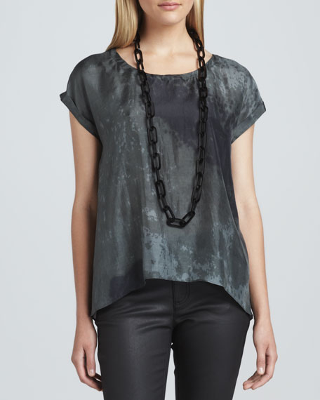 Sea Spray Silk Top