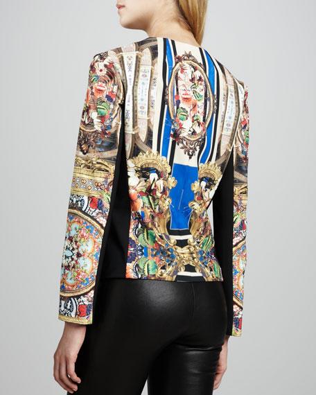 Russian Room Printed Jacket