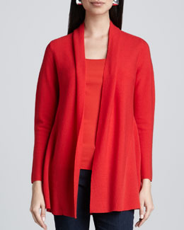 Eileen Fisher Merino Links Cardigan