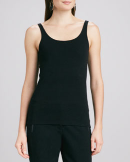 Eileen Fisher Organic-Cotton Slim Tank