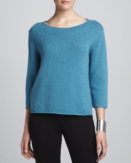 Cropped Yak-Wool Sweater