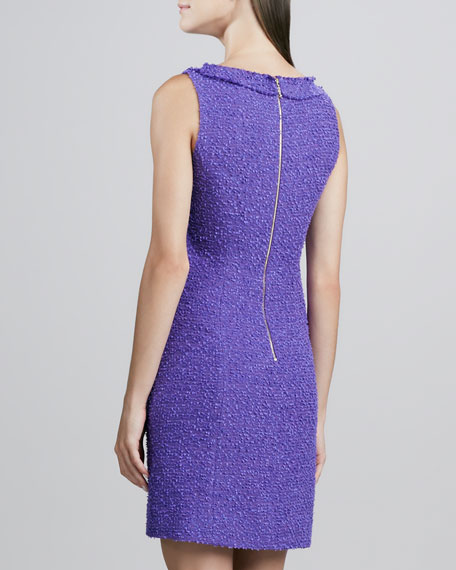 naudia textured sheath dress